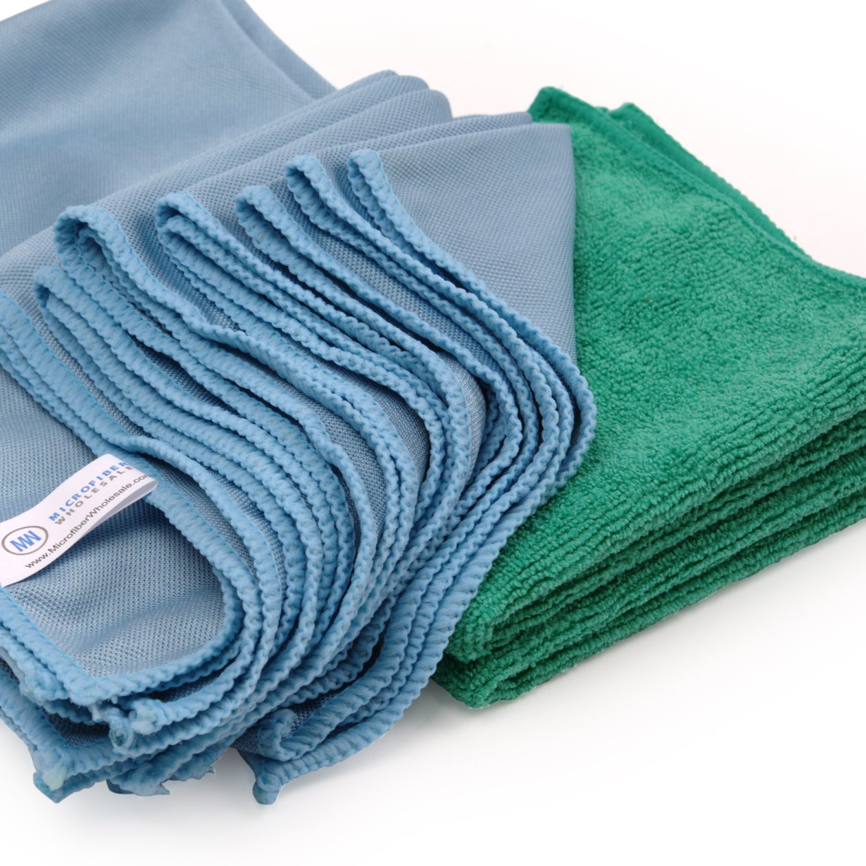 MICROfiber glass towel system